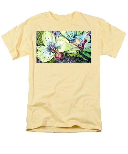 Light Of Orchids Men's T-Shirt  (Regular Fit) by Mindy Newman