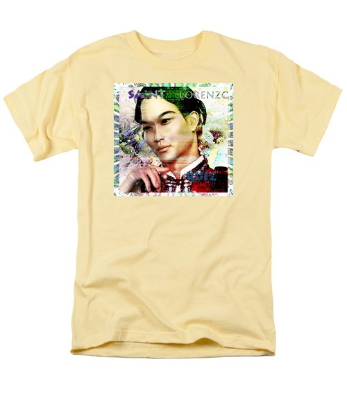 Men's T-Shirt  (Regular Fit) featuring the painting Light Of The Phillipines by Suzanne Silvir