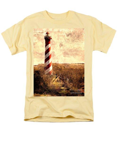 Lighthouse Westerlichttoren Men's T-Shirt  (Regular Fit) by Daniel Heine