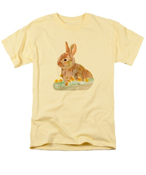 Little Rabbit Men's T-Shirt  (Regular Fit) by Angeles M Pomata