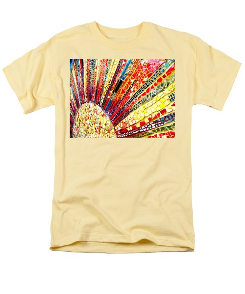 Living Edgewater Mosaic Men's T-Shirt  (Regular Fit) by Kyle Hanson