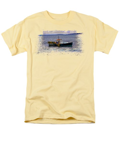 Lobstermen Men's T-Shirt  (Regular Fit) by John M Bailey
