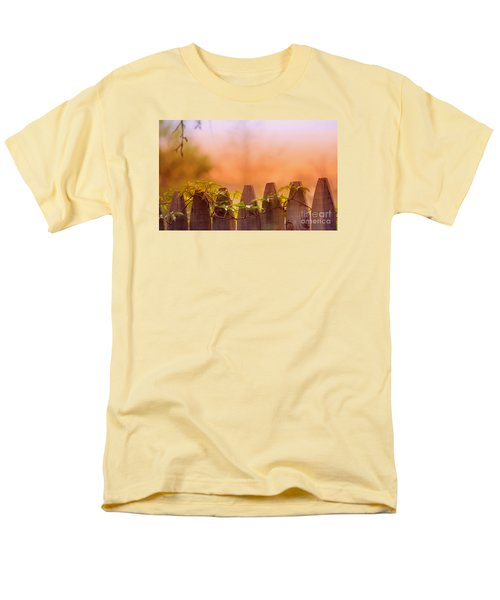 Men's T-Shirt  (Regular Fit) featuring the photograph Look Beyond The Boundary by Rima Biswas