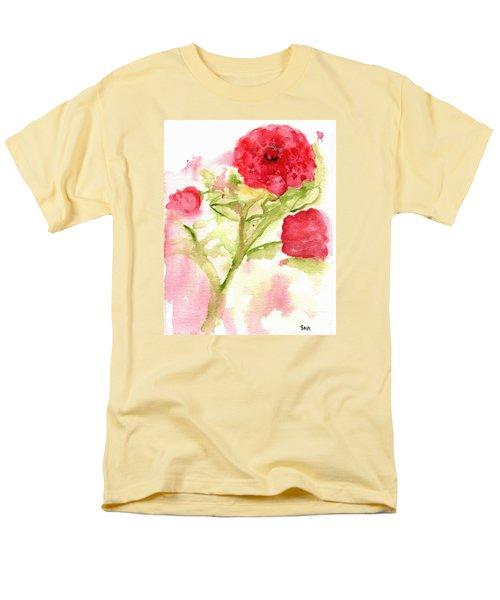 Lucky Rose Men's T-Shirt  (Regular Fit) by Sandy McIntire
