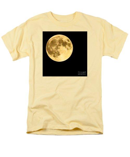 Lunar Close Up Men's T-Shirt  (Regular Fit) by Sandy Molinaro