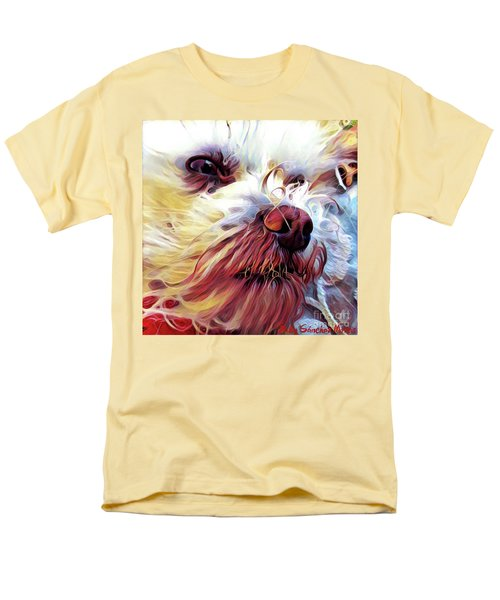 Lupi Men's T-Shirt  (Regular Fit) by Judy Morris