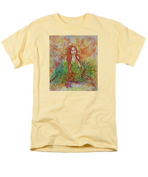 Magical Song Of Autumn Men's T-Shirt  (Regular Fit) by Rita Fetisov