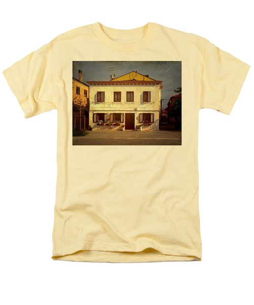 Men's T-Shirt  (Regular Fit) featuring the photograph Malamocco House No1 by Anne Kotan