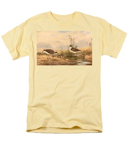 Masked Lapwing Men's T-Shirt  (Regular Fit) by Mountain Dreams