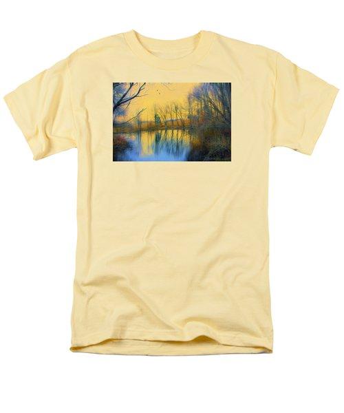Mellow Yellow Men's T-Shirt  (Regular Fit) by John Rivera