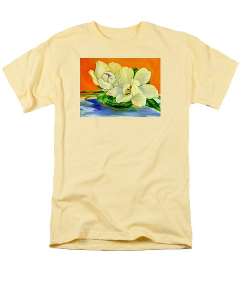 Mississippi Magnolias Men's T-Shirt  (Regular Fit) by Jeanette Jarmon