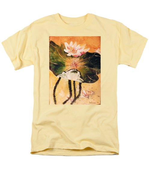 Monet's Water Lily Men's T-Shirt  (Regular Fit) by Seth Weaver