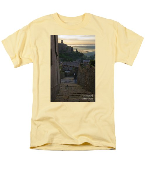 Men's T-Shirt  (Regular Fit) featuring the photograph Montalcino City by Yuri Santin