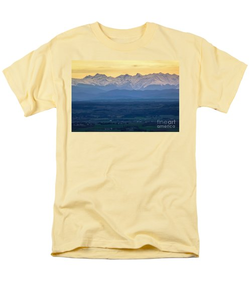 Mountain Scenery 15 Men's T-Shirt  (Regular Fit) by Jean Bernard Roussilhe