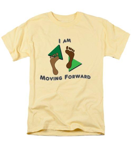 Moving Forward Men's T-Shirt  (Regular Fit) by Judi Saunders