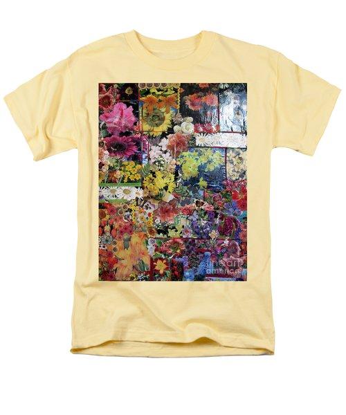 My Garden Men's T-Shirt  (Regular Fit) by Sandy McIntire