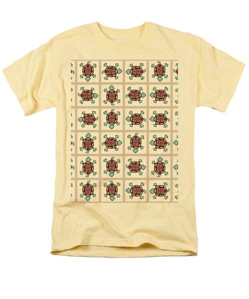 Native American Pattern Men's T-Shirt  (Regular Fit)