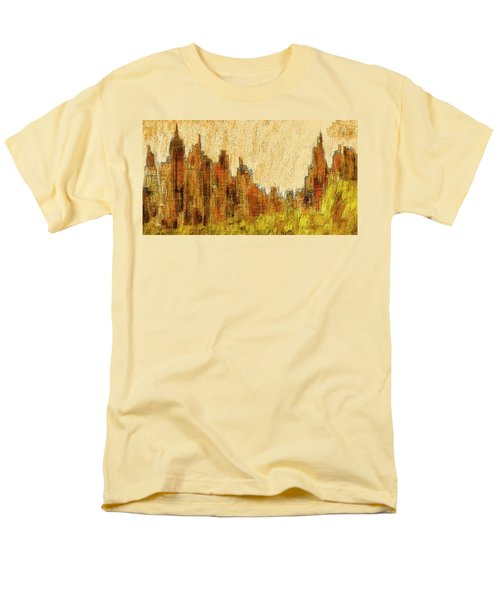 New York City In The Fall Men's T-Shirt  (Regular Fit) by Alex Galkin