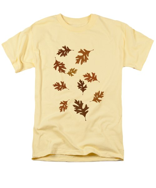 Oak Leaves Art Men's T-Shirt  (Regular Fit) by Christina Rollo