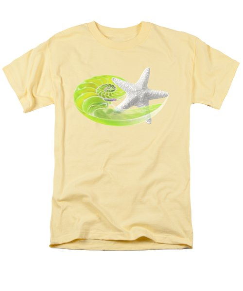 Ocean Fresh Men's T-Shirt  (Regular Fit) by Gill Billington