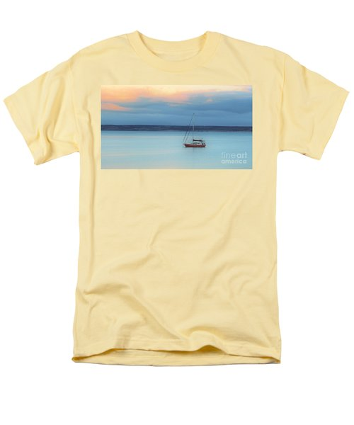 Men's T-Shirt  (Regular Fit) featuring the photograph Off Sailing by Stephen Mitchell