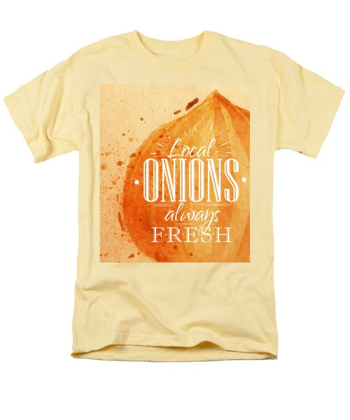 Onion Men's T-Shirt  (Regular Fit) by Aloke Creative Store