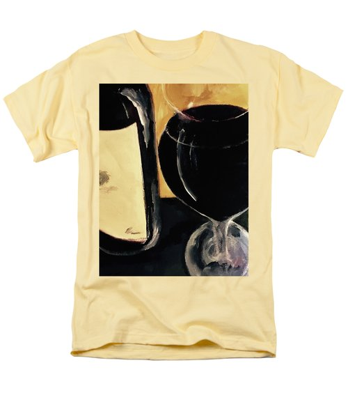 Men's T-Shirt  (Regular Fit) featuring the painting Over The Top by Lisa Kaiser