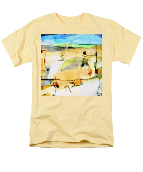 Men's T-Shirt  (Regular Fit) featuring the painting Overlook by Dominic Piperata