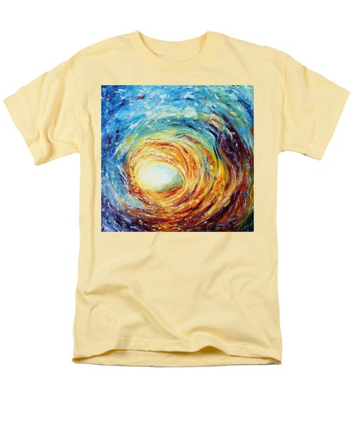Overwhelmed Men's T-Shirt  (Regular Fit) by Meaghan Troup