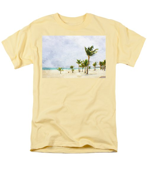 Palmtrees In Punt Cana Men's T-Shirt  (Regular Fit)