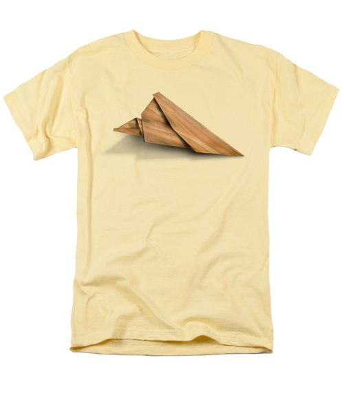 Paper Airplanes Of Wood 2 Men's T-Shirt  (Regular Fit) by Yo Pedro
