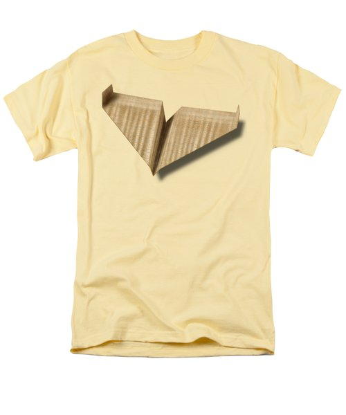 Paper Airplanes Of Wood 8 Men's T-Shirt  (Regular Fit) by YoPedro