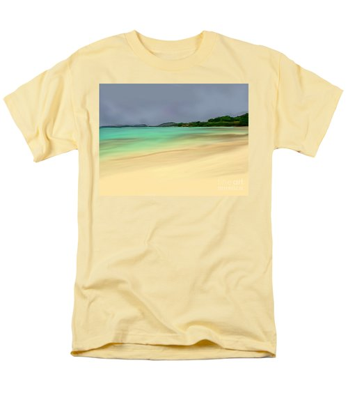 Paradise Men's T-Shirt  (Regular Fit) by Anthony Fishburne