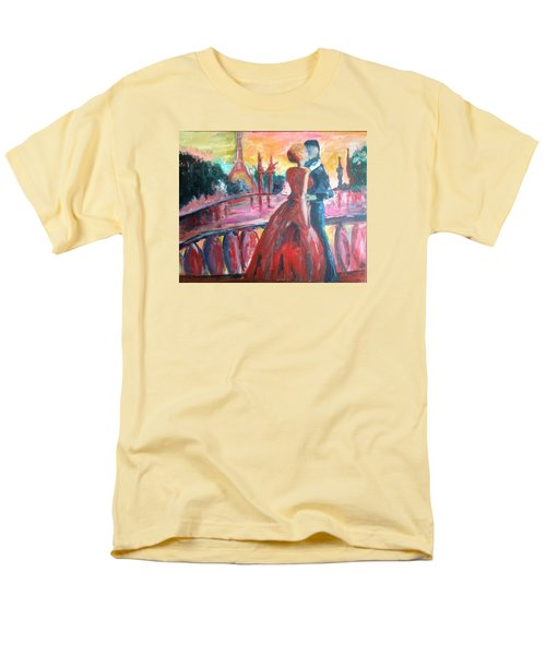 Paris Lovers Men's T-Shirt  (Regular Fit) by Roxy Rich