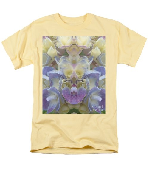 Men's T-Shirt  (Regular Fit) featuring the photograph Pastel Blooms by Christina Verdgeline