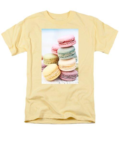 Pastel Macarons Men's T-Shirt  (Regular Fit)