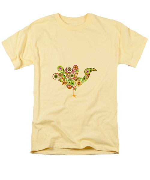 Peafowl Men's T-Shirt  (Regular Fit) by BONB Creative