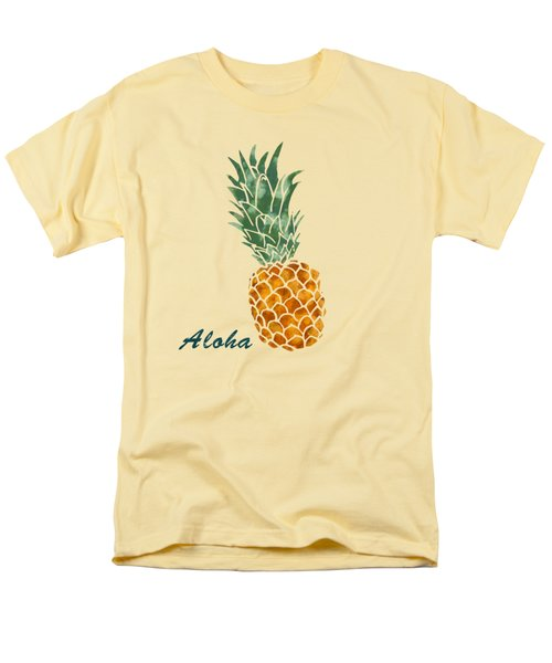 Pineapple Men's T-Shirt  (Regular Fit) by Jirka Svetlik