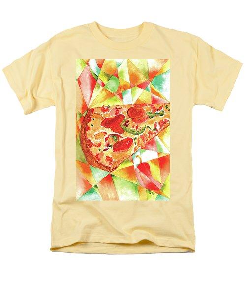 Pizza Pizza Men's T-Shirt  (Regular Fit) by Paula Ayers