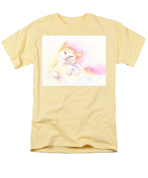 Playful Cat II Men's T-Shirt  (Regular Fit)