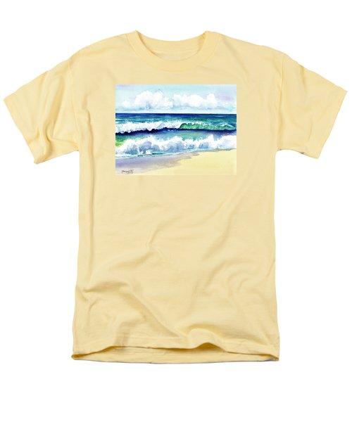 Polhale Waves 3 Men's T-Shirt  (Regular Fit) by Marionette Taboniar