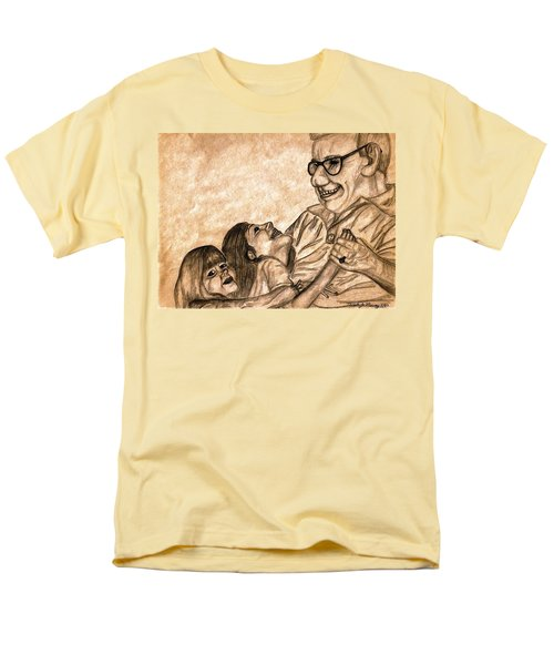 Pop And Us Men's T-Shirt  (Regular Fit) by Angela Murray
