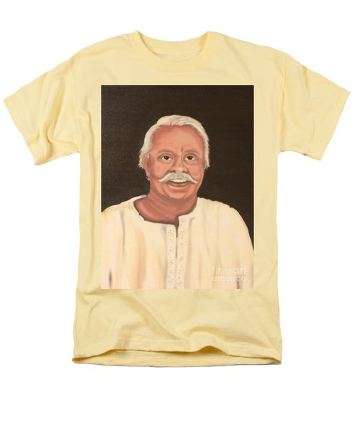 Men's T-Shirt  (Regular Fit) featuring the painting Portrait 2 by Brindha Naveen