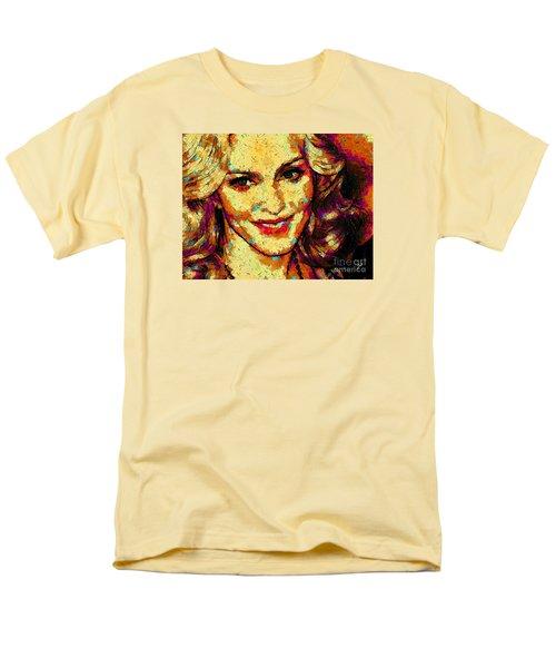 Portrait Of Madonna Men's T-Shirt  (Regular Fit) by Zedi
