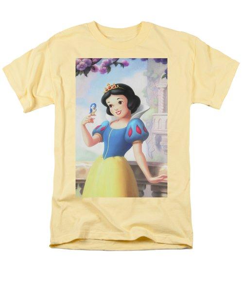 Princess Snow White Men's T-Shirt  (Regular Fit) by The Art Of Marilyn Ridoutt-Greene