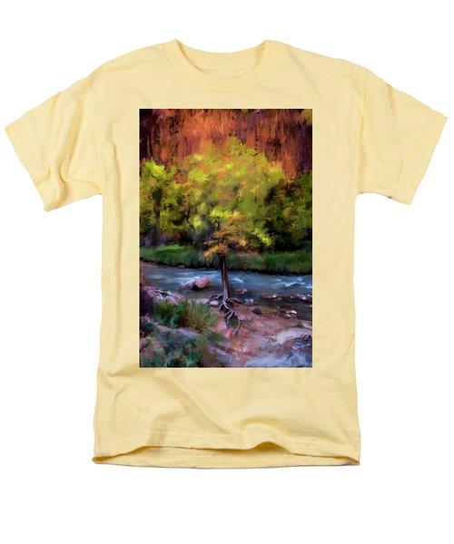 Psalm 1 Men's T-Shirt  (Regular Fit) by Annette Berglund