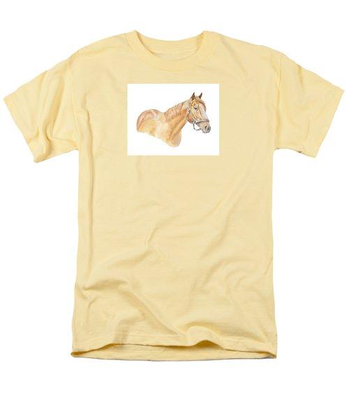 Racehorse Men's T-Shirt  (Regular Fit) by Elizabeth Lock