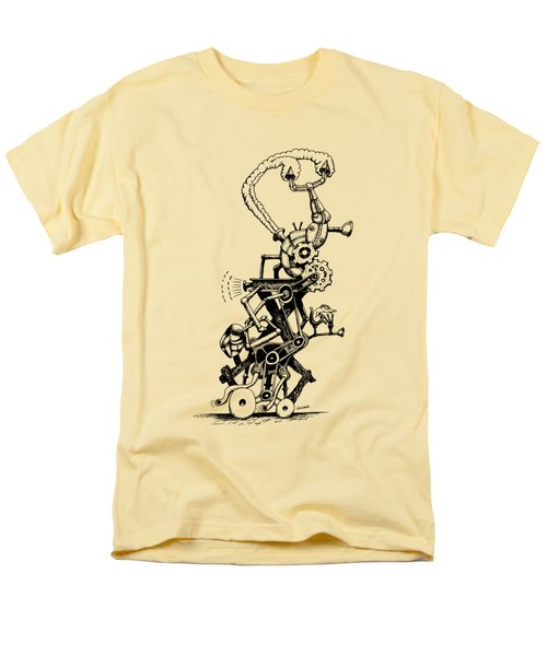 Rat Reverse-cycle Steam Engine Men's T-Shirt  (Regular Fit) by Kim Gauge