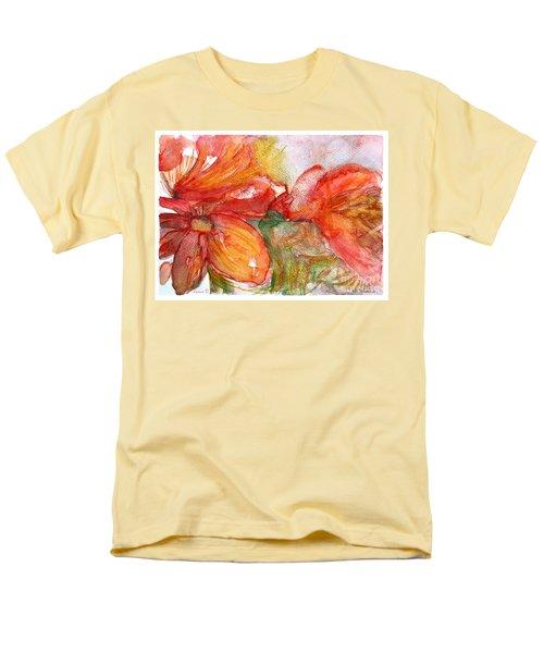 Red Dance Men's T-Shirt  (Regular Fit) by Jasna Dragun