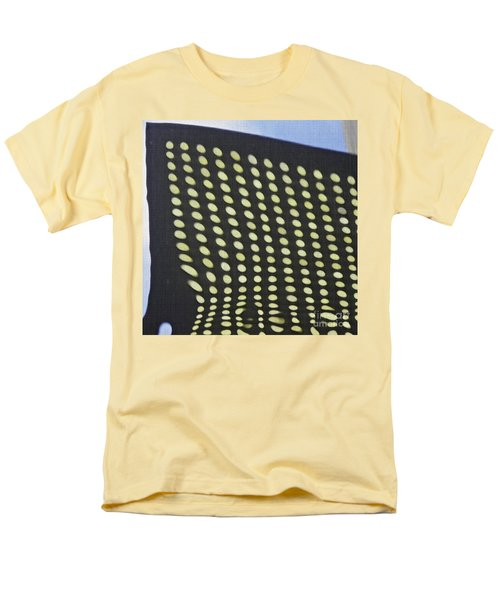 Men's T-Shirt  (Regular Fit) featuring the photograph Reflection On 42nd Street 3 by Sarah Loft